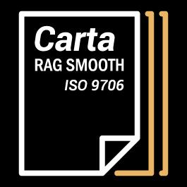 Carta Rag Smooth Iso 9706
