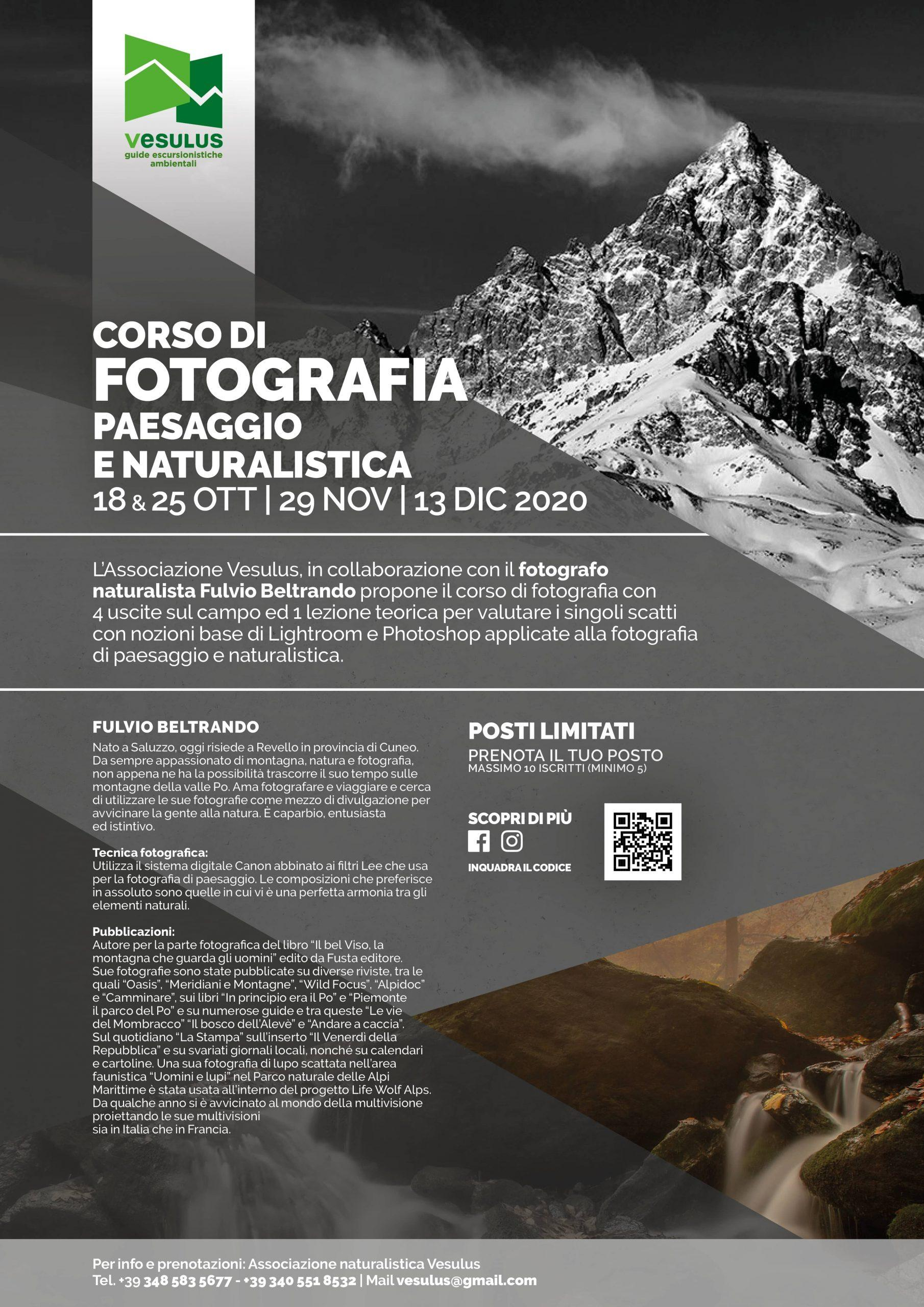 Mini Contest Fotografico – Corso Di Fotografia Naturalistica Con Fulvio Beltrando